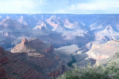アメリカ ラスベガスと大自然グランドサークル6日間の旅 <6> グランドキャニオン