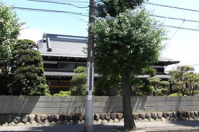 橋本4の大通りに面したお屋敷