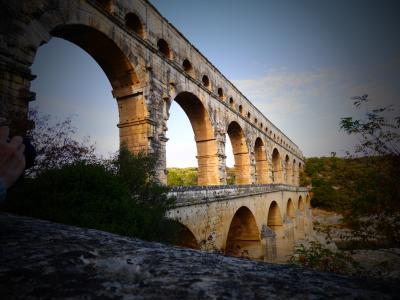 2017南仏ドライブ旅行(12):4日目ポン・デュ・ガール ~世界遺産:ローマ時代の水道橋~