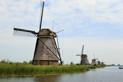 2018年6月 オランダ・ベルギー・ドイツの旅(2) ロッテルダムとキンデルダイクの風車