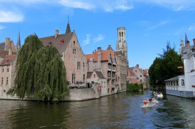 2018年6月 オランダ・ベルギー・ドイツの旅(6) おとぎの国ブルージュ