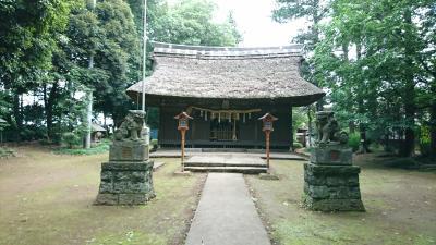 茨城散策。国王神社(平将門公 終焉の地)へ訪問してきました。