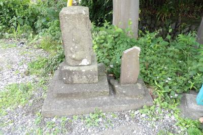 境の石仏(東京都町田市相原町)