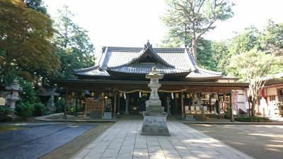 帰り途、大きな神社を発見したので、お参りしてきました。「大宝八幡宮」
