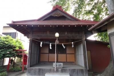 四ッ谷日枝神社(相模原市南区磯部字下磯部)