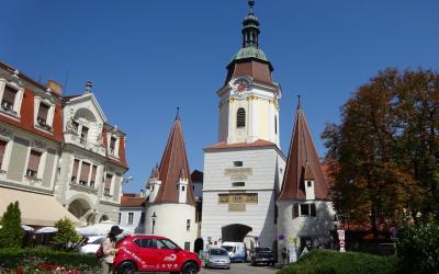 2017夏オーストリアとバイエルンの旅04:ヴァッハウ渓谷3つ目はクレムス