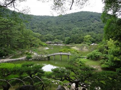 香川の旅①(栗林公園、高松市内散策)