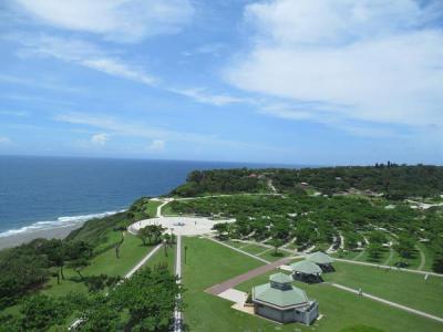 梅雨明け?の沖縄へ(4)平和祈念公園~青い海と青い空の平和をかみしめながら