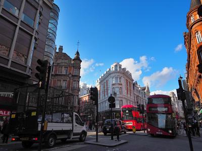 ロンドンGWぼっち旅09 ピカデリーサーカスからオペラ座の怪人鑑賞