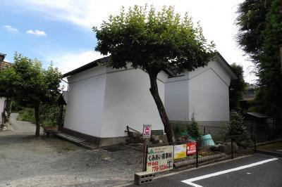 元橋本町の境川沿いの土蔵と欅の木