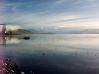 テカポ湖にうっとり❤
