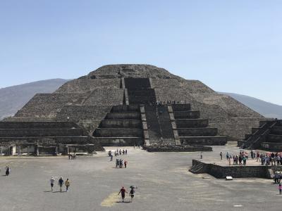 -メキシコ 2-  テオティワカン遺跡