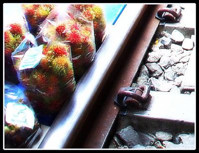 約10年ぶりの...微笑みさがし...〔列車の来ないメークロン市場(Maeklong Market)編-2〕 - Thailand - from Brasil #20(バンコク/タイランド)