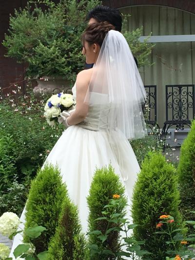 娘の結婚式に行って来ました