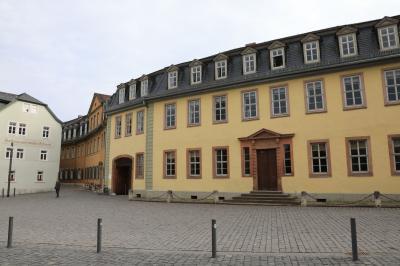 ドイツ鉄道の旅 バウハウスを訪ねて・・・ゲーテの家と大公家墓所