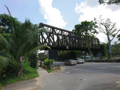 4回目のシンガポール 旧マレー鉄道跡のグリーンコリドー(レールコリドー)の北側半分 ブキティマ~クランジを歩いてきた。