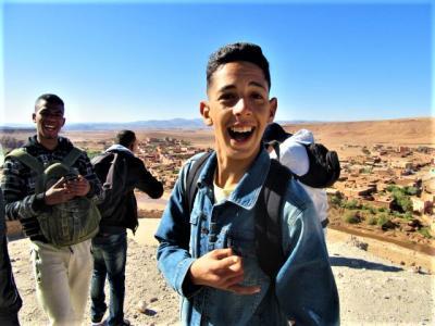 エミレーツ Cクラスで行く!旅人を魅了する幻想の国エキゾチックモロッコ!【8】( 映画のワンシーンに迷い込んだようなアイト・ベン・ハッドゥ 編