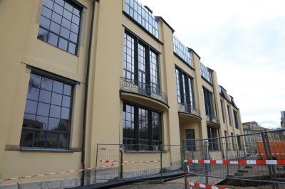 ドイツ鉄道の旅 バウハウスを訪ねて・・・ワイマールのバウハウス大学
