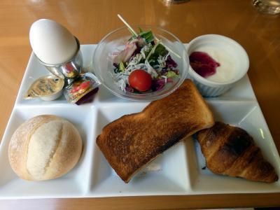 07.GW前半のエクシブ伊豆2泊 日本料理 黒潮 コンチネンタルブレックファーストの朝食