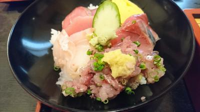 小田原で美味しいお魚を食べる!蕎麦も!