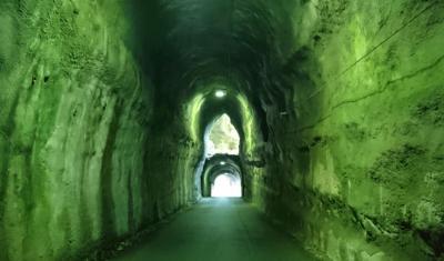 あじさいと養老渓谷 そして不思議なトンネル(2日目)