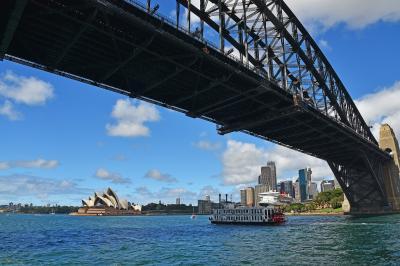 家族と一緒にオーストラリア旅行2018(5)6日目-シドニー其の3(ミセスマッコリーズポイント散策&シドニー湾クルーズ)