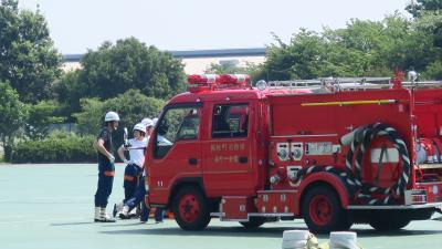 町内会大地震体験バスツアー