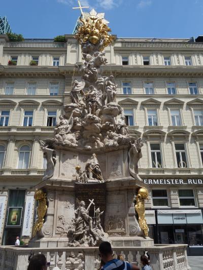シュテファン寺院に参詣し,グラーベン通りを散策。ウィーン観光の王道です。