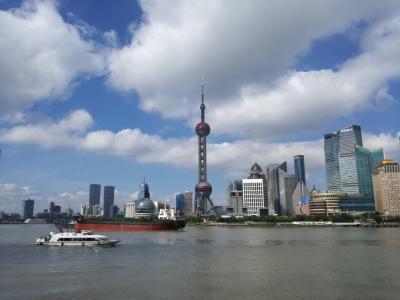 ちょっとそこまで、上海さんぽ。