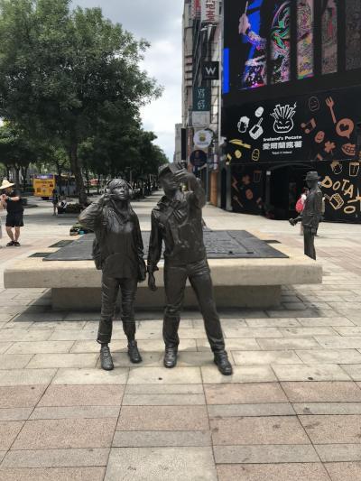 暑い台湾 ♪  市場めぐりで46.5キロ歩きました ♪ 出発→2日目
