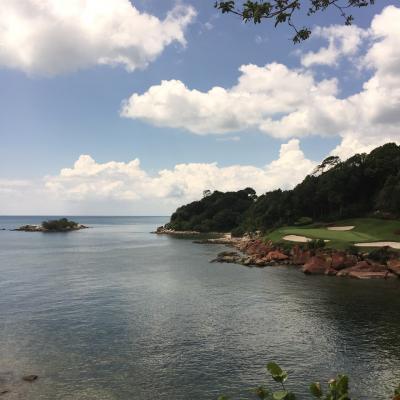 シンガポールからインドネシア、ビンタン島へゴルフツアー シンガポール旅行3日目