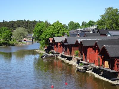 2018年  春    オーストリア    ウィーンとハルシュタットへ      帰りにちょっとフィンランドに寄り道      ポルヴォー編