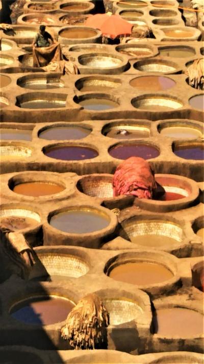 モロッコを往く、おじさん一人旅14日間 no6 フェズの迷宮を楽しむ