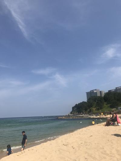 子連れ(4歳)でGo~海開き前のソクチョはすでに海入り