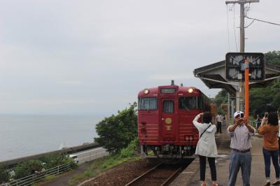 ぐるり四国①  観光列車「伊予灘ものがたり」