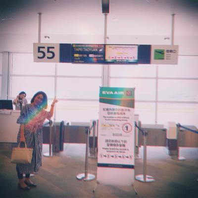 初めての台北へ★2.可愛い!エバー航空