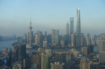 上海10選 関空から上海へ
