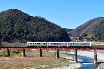 三江線のローカル線風景と川本町の天然記念物 ~イズモコバイモ~(島根)