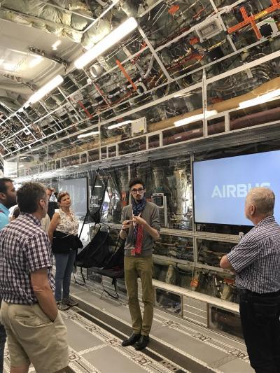 フランス南西部旅行【8】エアバス工場見学、アエロスコピア航空博物館、E.Leclerc、ブラニャック空港、等