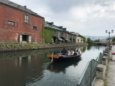 週末北海道②【小樽、千歳】6歳&8歳&72歳と弾丸旅行