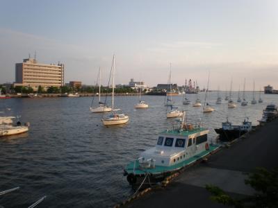 初夏の新潟「ホテルオークラ新潟」和食の夕餉「マリンピア日本海」と新潟市内ぶら歩き