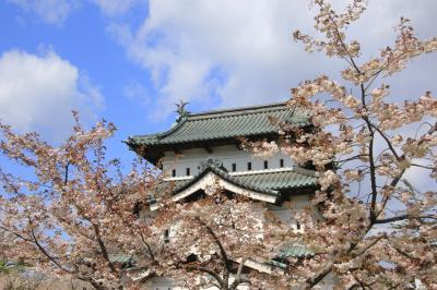 新緑に癒された5月の東北旅行(2)リベンジならず、弘前さくらまつり
