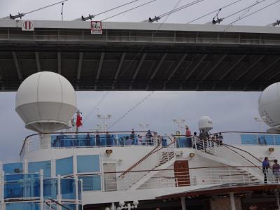 初クルーズ♪ くろまめ夫婦 ダイヤモンドプリンセスに乗る 5 釜山港へ帰れ