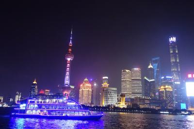 上海10選 南京西路、東路、外灘の夜景
