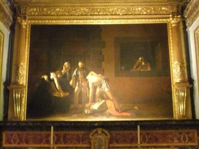 マルタとキプロス5 聖ヨハネ美術館でカラヴァッジョの絵に会う。