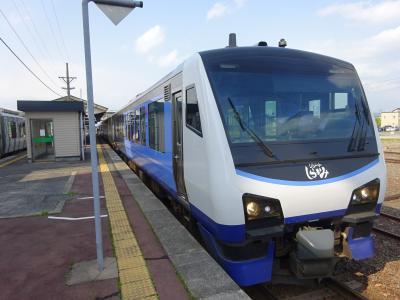 ローカル私鉄に乗りに、新緑の津軽地方へ【その5】 リゾートしらかみでショートトリップ