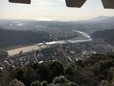 山口県の城跡巡り:岩国城跡