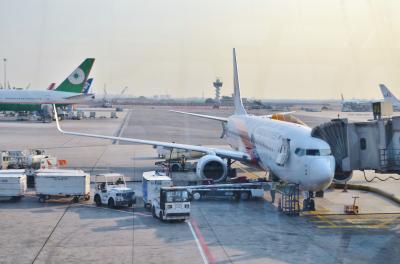 モルディビアンハネムーン Part 14 - マレーシア航空ビジネスクラス バンコク → クアラランプール