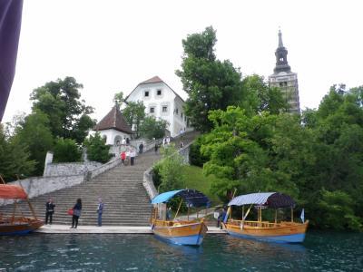 古希記念旅 クロアチア・スロベニアを巡る 1~3日目朝  ブレッド湖