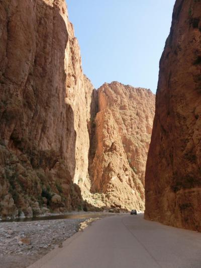 ターキッシュエアラインで行くモロッコの旅8日間-5日目の2 ワルザザード迄の道